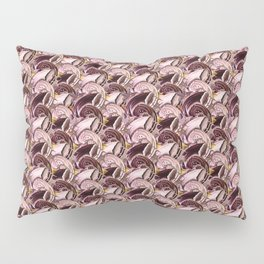 Dystopian Conch - Lavender Pillow Sham