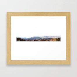 Grand Canyon panorama Framed Art Print