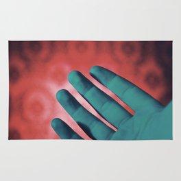 Neon Hands Rug