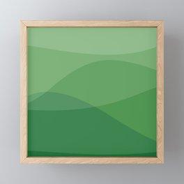 Waves: Forest Bathing Framed Mini Art Print