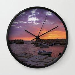 Lanescove Sunset Wall Clock