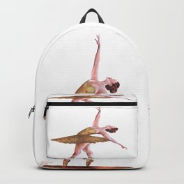 Gold Ballerina Backpack