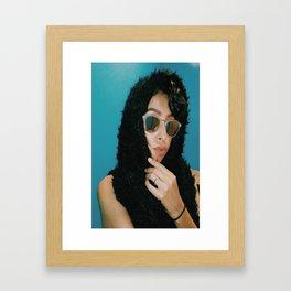 european beauty Framed Art Print
