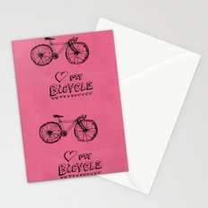 Love my Bicycle Stationery Cards