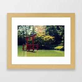 An Arrival Framed Art Print