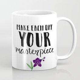 #KinaTurns24: Make Each Day Your Masterpiece Coffee Mug