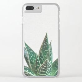 Aloe Tiki Clear iPhone Case