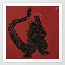 Shin G*dzilla 2020 Art Print