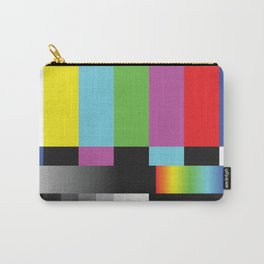 Colour Bars Carry-All Pouch