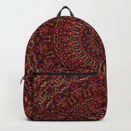 Kaleidoscope Garden Mandala Backpack