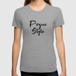 Pogue Style T-shirt