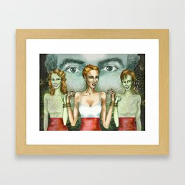Origin of symmetry Framed Art Print
