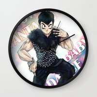 dbz Wall Clocks featuring + DBZ - Seungri + by MitsuBlinger
