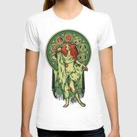 nouveau T-shirts featuring Zombie Nouveau by Megan Lara