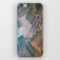 quilt iPhone & iPod Skins featuring Patchwork Quilt by premedia