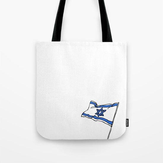 Israeli Flag Tote Bag