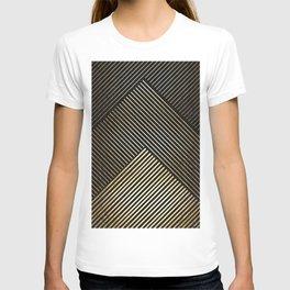 Golden polygon XV T-shirt