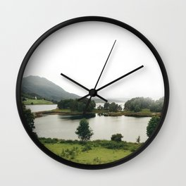 pictoresque norway Wall Clock