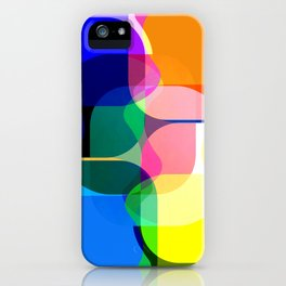 Multicolored abstractions iPhone Case