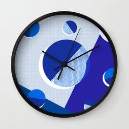 Japanese Patterns 02v Wall Clock