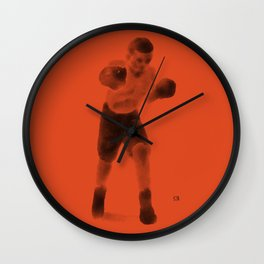 The Boxer Wall Clock