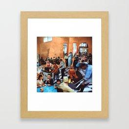 Potluck Framed Art Print