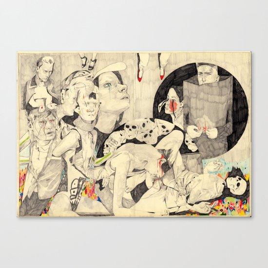 Mörder Canvas Print