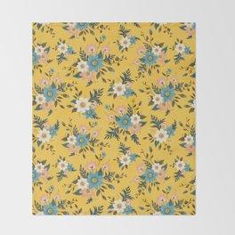 Flowers Throw Blanket