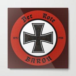 Der Rote Baron - 1918 Metal Print