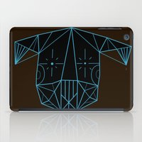 tim shumate iPad Cases featuring Space Tim  by Ninna
