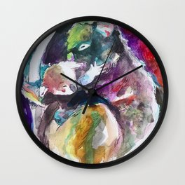 Mummy and Baby Koala Wall Clock