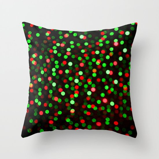 Holiday Dance Floor Throw Pillow
