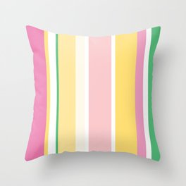 Manly Stripe Throw Pillow