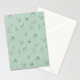 Rings, Hands & Nail Art, Oh My! Stationery Cards