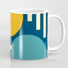 Three circles and lines Coffee Mug