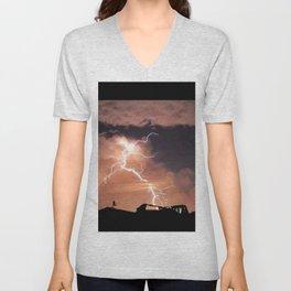 Mister Lightning Unisex V-Neck