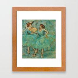 Edgar Degas - Two Dancers, 1905 Framed Art Print