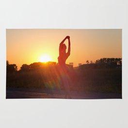 nude yoga Rug