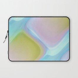 Pastel pattern blue river Laptop Sleeve