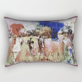 Spirits Watch Rectangular Pillow
