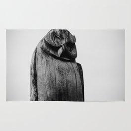 wooden owl Rug