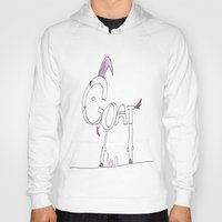 goat Hoodies featuring Goat by Ryan van Gogh