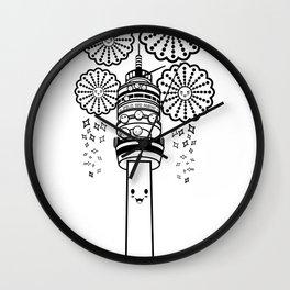 Torre Entel 1 Color Wall Clock