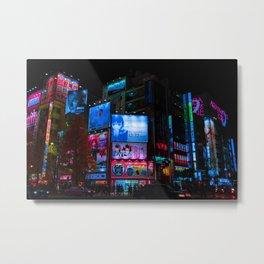 Akihabara Colors Metal Print
