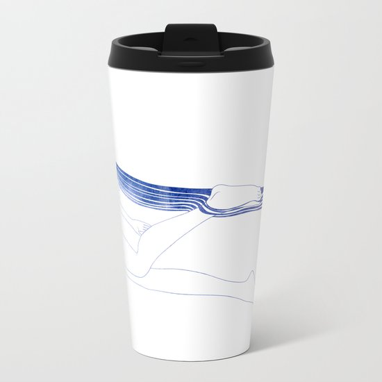 Water Nymph LI Metal Travel Mug