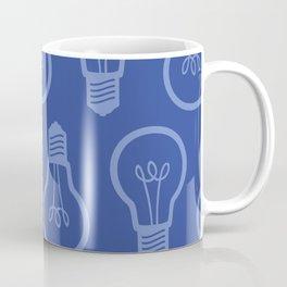 BlueLight Bulb Coffee Mug