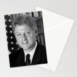 President Bill Clinton Stationery Cards