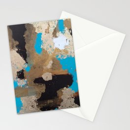 Turquoise and Gold Stationery Cards