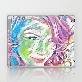 Christina Hendricks (Creative Illustration Art) Laptop & iPad Skin
