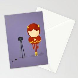 The Flash: My camera hero! Stationery Cards